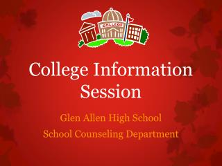 College Information Session