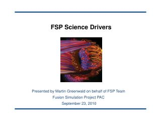 FSP Science Drivers