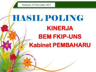 HASIL POLING