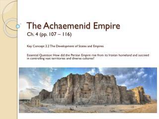 The  Achaemenid  Empire