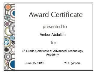 Amber Abdullah