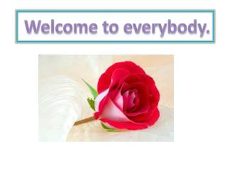 Welcome to everybody.