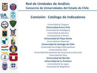 Red de Unidades de Análisis Consorcio de Universidades del Estado de Chile