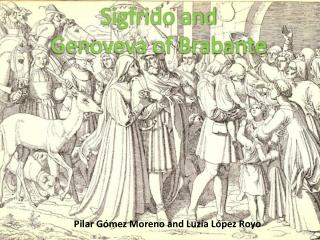 Sigfrido and Genoveva of Brabante