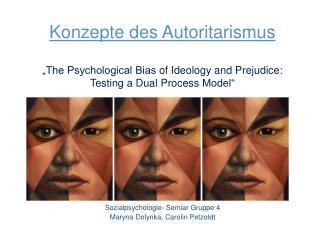 Sozialpsychologie-  Semiar  Gruppe 4 Maryna  Dolynka , Carolin  Petzoldt