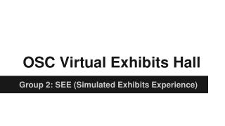 OSC Virtual Exhibits Hall