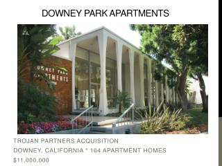 Downey Park Apartments