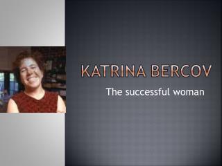 Katrina Bercov