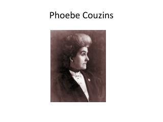 Phoebe  Couzins