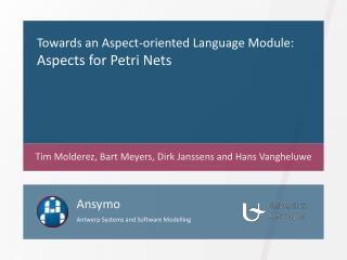 Towards an Aspect-oriented Language Module: Aspects for Petri Nets