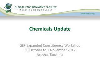 Chemicals Update