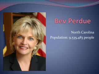 Bev Perdue