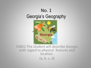 No. 1 Georgia�s Geography