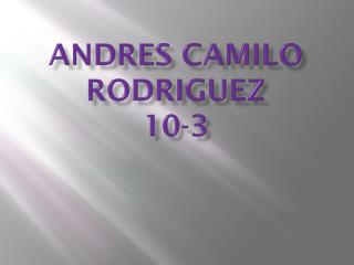 Andres camilo rodriguez 10-3
