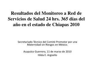 Secretariado Técnico del Comité Promotor por una Maternidad sin Riesgos en México.