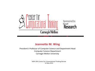 Jeannette M. Wing