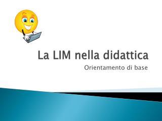 La LIM nella didattica