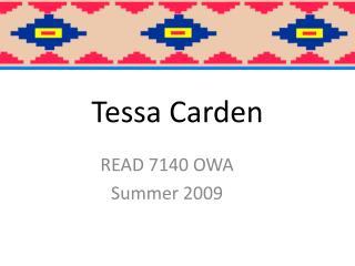 Tessa Carden