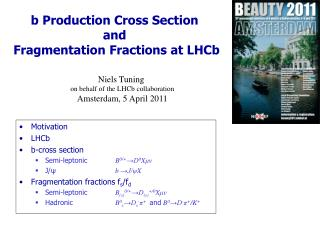 b Production Cross Section  and  Fragmentation Fractions at LHCb