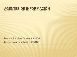Agentes de información