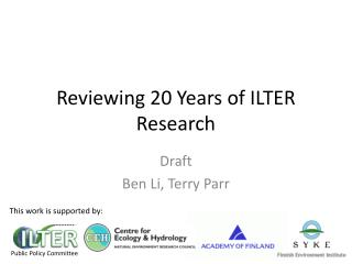 Reviewing 20 Years of ILTER Research