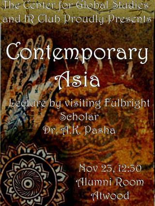 Contemporary Asia