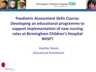 Heather  Steele Educational  Practitioner