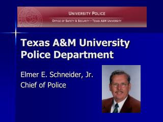 Texas A&M University Police Department