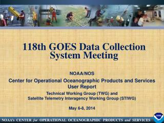 118th GOES Data Collection System  Meeting