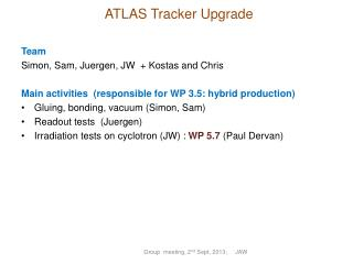 ATLAS Tracker Upgrade