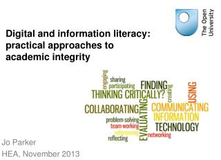Digital and information literacy: practical approaches to academic integrity
