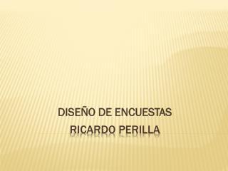RICARDO PERILLA
