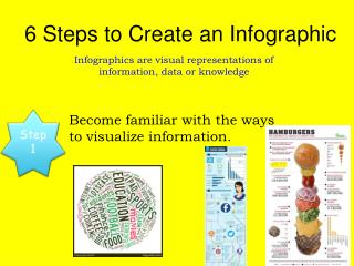 6 Steps to Create an  Infographic