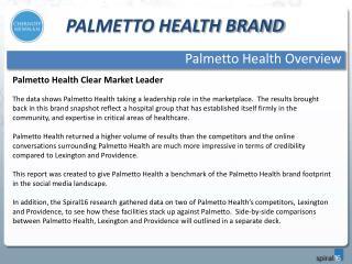 Palmetto Health BRAND