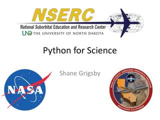 Python for Science
