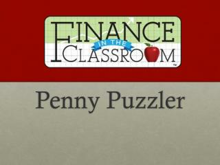 Penny Puzzler