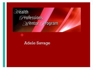 Adele Savage