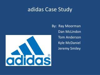 adidas Case Study