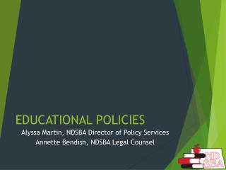 EDUCATIONAL POLICIES