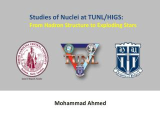 Studies  of Nuclei at TUNL/HIGS: From Hadron Structure to Exploding Stars