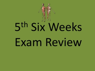 Exam I Review Questions