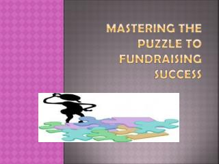 Mastering the Puzzle to Fundraising Success