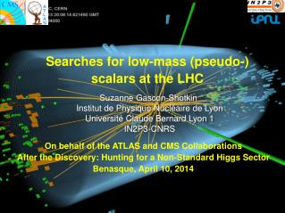 Searches for low-mass (pseudo- ) scalars  at the LHC