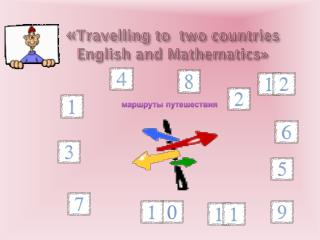 « Travelling to  two countries   English and Mathematics»