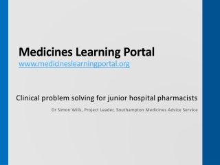 Clinical Problem Solving
