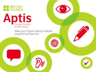 Global English test developed by the British Council English proficiency test for adults (16+)