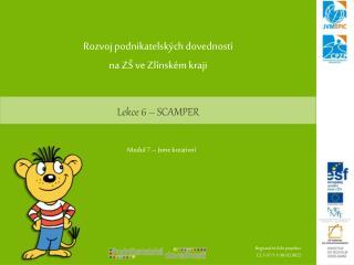 Lekce 6 – SCAMPER