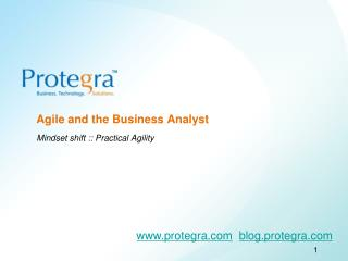 Agile and the Business Analyst