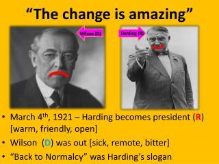 """""""The change is amazing """""""