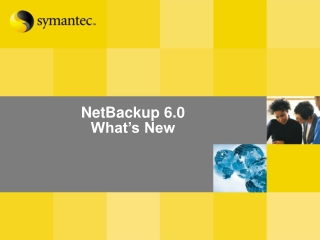What s New In NetBackup 6.5: The NetBackup Platform: Next Generation Data Protection